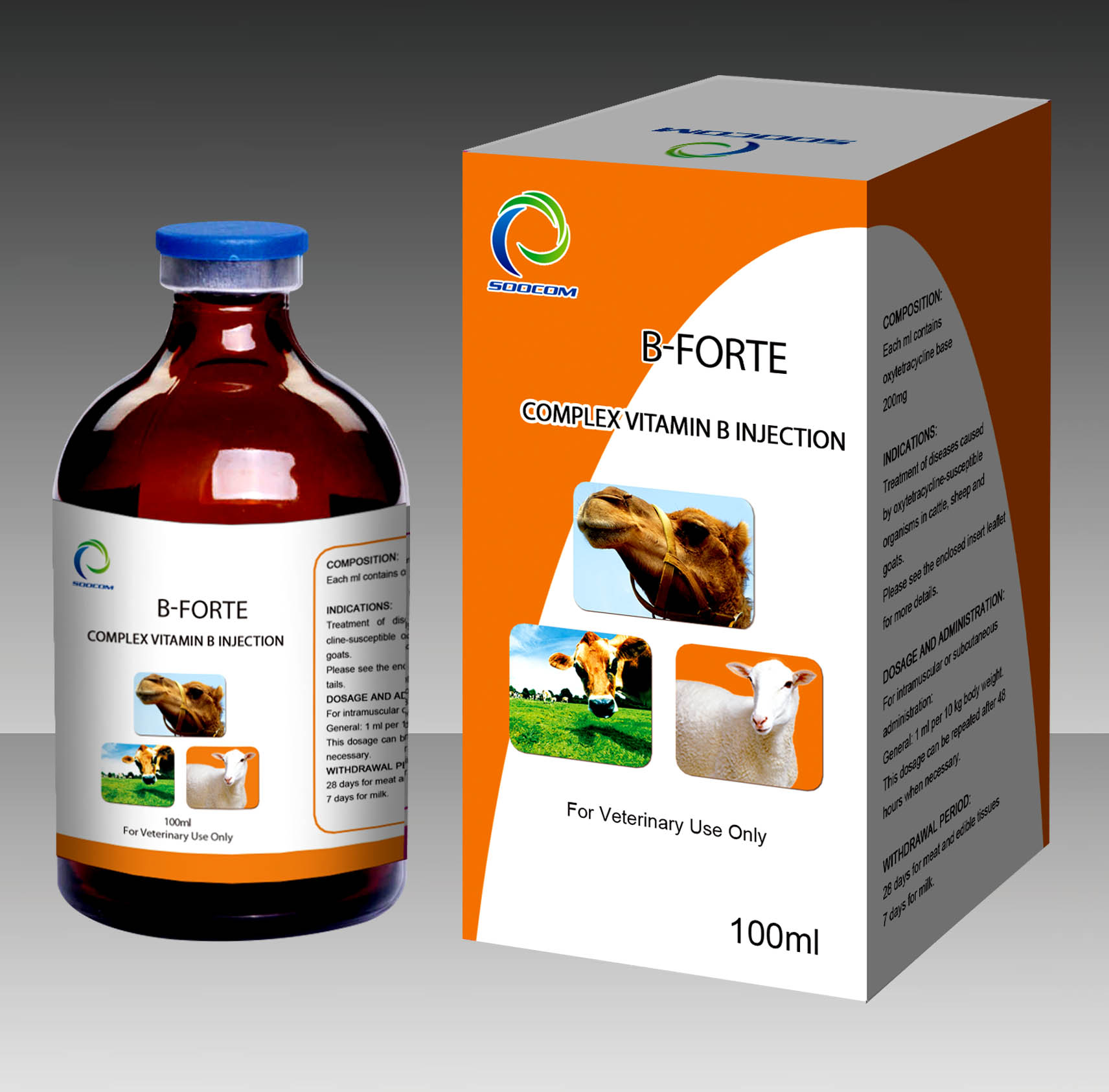 B-FORTE COMPLEX VITAMIN B INJECTION